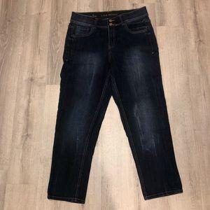 Lane Bryant cropped jeans euc size 14